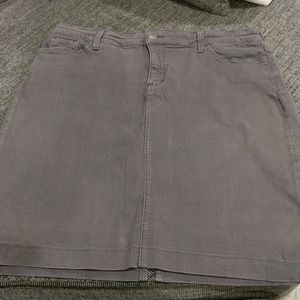 Not your daughters Jeans Gray / purple denim skirt